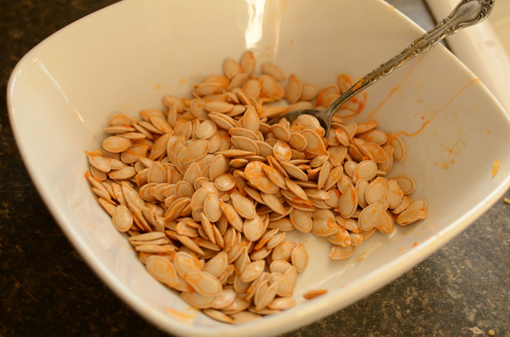 Roasted Pumpkin Seeds002